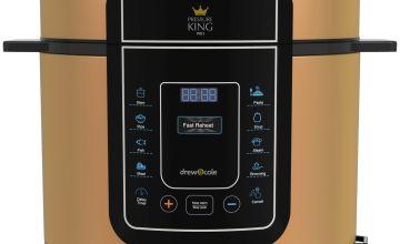 Pressure King Pro 12in1 5L Digital Pressure Cooker - Copper