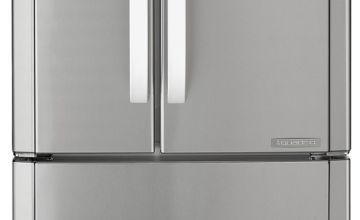 Hotpoint FFU4DX American Fridge Freezer - Stainless Steel