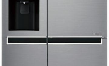 LG GSL760PZXV American Fridge Freezer - Silver