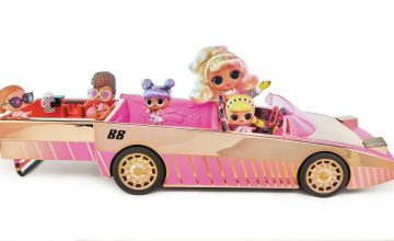 LOL Surprise Car Pool Coupe with Exclusive Doll