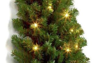 Premier Decorations 3ft Pre-lit Half Christmas Tree - Green