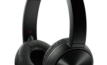 Sony MDR-ZX330BT On-Ear Wireless Headphones - Black
