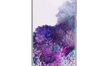 SIM Free Samsung Galaxy S20 128GB 4G Mobile Phone-Grey