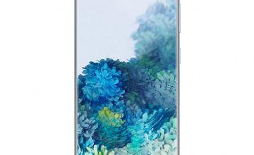 SIM Free Samsung Galaxy S20 128GB 4G Mobile Phone-Cloud Blue