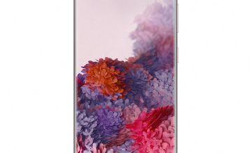 SIM Free Samsung Galaxy S20 128GB 4G Mobile Phone-Cloud Pink