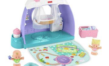 Fisher-Price Little People Babies Nursery Room Playset