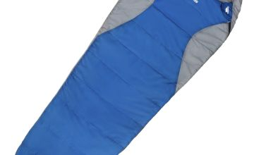 Trespass 300GSM Mummy Cowl Sleeping Bag