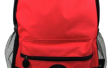 Pokemon Pokeball 8L Backpack - Red