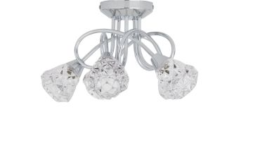 Argos Home Dico 5 Light Ceiling Light