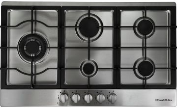 Russell Hobbs RH75GH601SS Gas Hob - Stainless Steel
