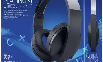 Sony Wireless PS4 Headset - Platinum