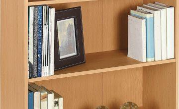 Argos Home Maine 2 Shelf Small Bookcase