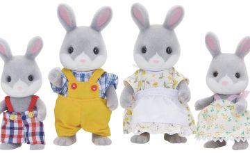 Sylvanian Families Cottontail Rabbit Family.