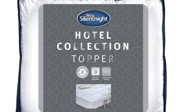 Silentnight Luxury Hotel Collection Mattress Topper