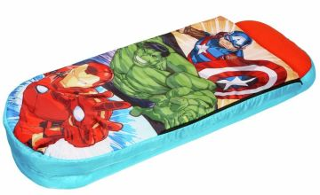 Marvel Avengers Junior ReadyBed Air Bed and Sleeping Bag