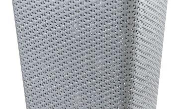 Curver 55 Litre Laundry Hamper - Grey