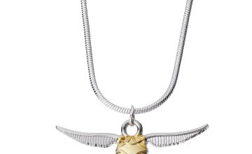 Harry Potter Silver Colour Snitch Pendant Necklace
