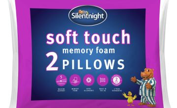 Silentnight Soft Touch Memory Foam Firm Pillow - 2 Pack
