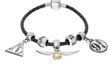 Harry Potter Faux Leather Charm Bracelet