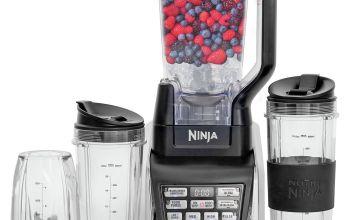 Ninja 6 Piece Nutritional Duo Blender - Black