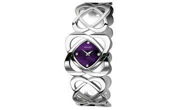 Seksy Ladies Silver Stainless Steel Bracelet Watch