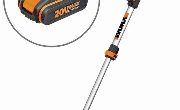 WORX WG163E 18V 20V MAX Cordless Grass Trimmer - 2 Batteries