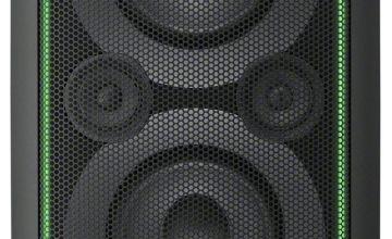 Sony GTK-XB5 High Power Audio Light Up System - Black
