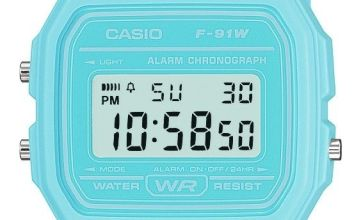 Casio Retro  Blue Resin Strap Watch