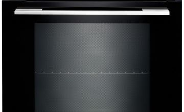 Rangemaster RMB610PBL/SS Built In Electric Oven - Black