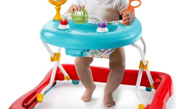 Bright Starts Pack Of Pals Foldable Baby Walker