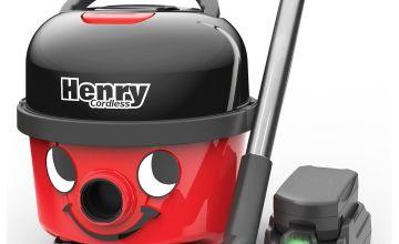 Henry HVB160/2 Bagged Cordless Cylinder Vacuum Cleaner
