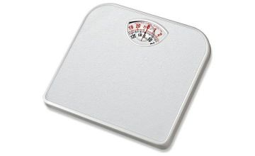 Argos Home Compact Mechanical Bathroom Scale - White