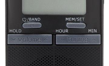Bush Personal FM Radio - Black