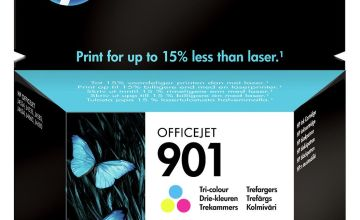 HP 901 XL High Yield Original Ink Cartridges -Black & Colour