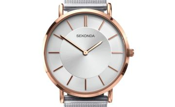 Sekonda Edition Ladies Silver Mesh Bracelet Watch
