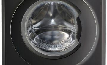 Indesit BWE91484X 9KG 1400 Spin Washing Machine - Black