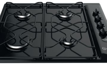 Indesit PAA642/I Gas Hob - Black