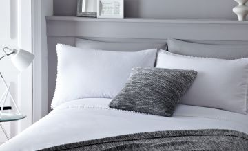 Serene Pom Pom Bedding Set