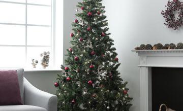 Argos Home 7ft Nordland Pre-Lit Christmas Tree - Green