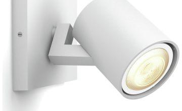 Philips Hue White Ambience Runner LED Spot w/ Dimmer - White