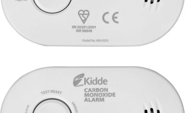 Lifesaver Carbon Monoxide Alarm Twin Pack