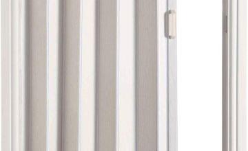 White Oak Effect Folding Door
