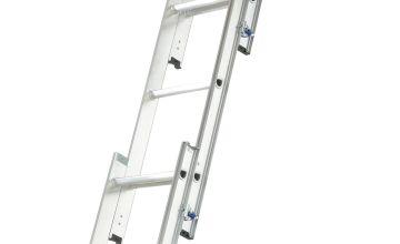 Abru 3 Section Loft Ladder With Handrail