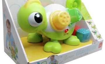 Infantino Leon the Sensory Chameleon.