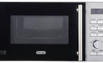 De'Longhi 900W Combination Microwave D90D - Stainless Steel