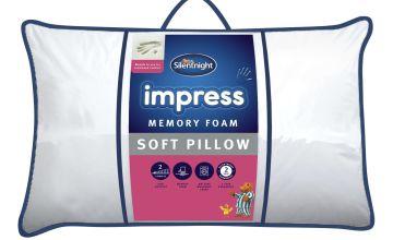 Silentnight Impress Memory Foam Soft Pillow