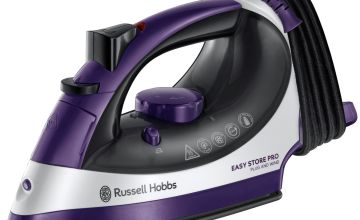 Russell Hobbs 23780 Plug & Wind Easy Store Steam Iron