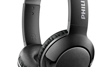 Philips SHL3070 On-Ear Headphones - Black