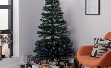 Argos Home 6ft Fibre Optic Christmas Tree - Green