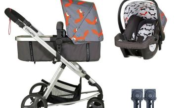 Cosatto Giggle Mix Travel System Bundle - Mister Fox